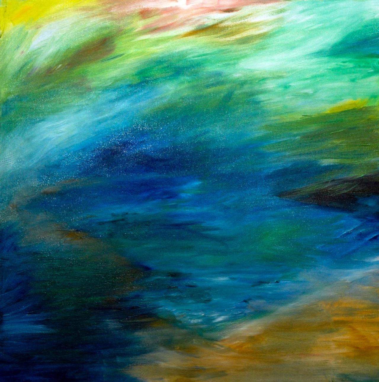 Impression von Meer